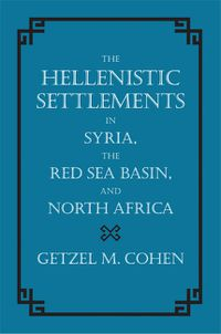 COHEN HELLENISTIC SYRIA