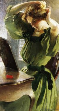 John-White-Alexander--1856-1915--Young-Woman-Arranging-Her-.jpg