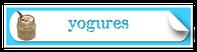 étiquettes cornées yogures