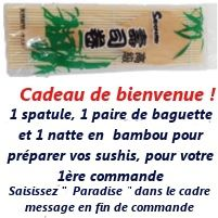 La boutique du japon cadeau bienvenue paradise