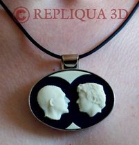 lien vers l'image: bijou portrait duo - Repliqua 3D: portraits en camée