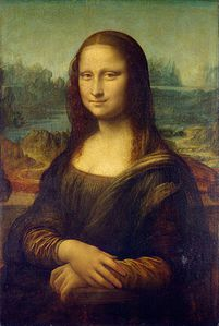 Mona Lisa, by Leonardo da Vinci,