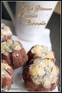 gâteaux choco cannel
