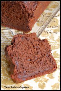 cake chocolat rhum