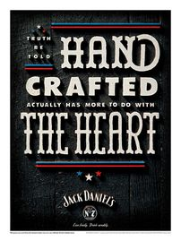 jackdaniels poster heart small