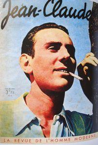 Fumeur, Jean-Claude, revue Homme moderne, 1938