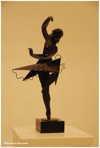 Barcelone Musee national Art de Catalogne Danseuse