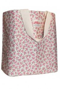 Annie Greenabelle Polka Rose Short Handled Shopper Bag