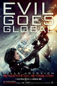 resident evil retribution affiche
