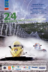 Ectac.24 heures motonautiques de Rouen 2011.03