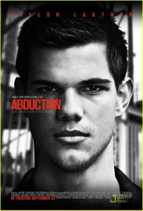 Taylor Lautner - Abduction Poster