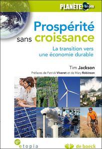 Prospérité sans croissance de Tim JACKSON