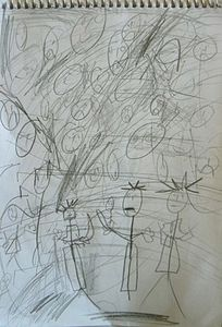 9 MELY Croquis Foule P1130765