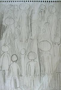9 MELY Croquis Foule P1130770