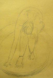 Croquis-Degas-danseuse-atelier de Flo-FloM 13