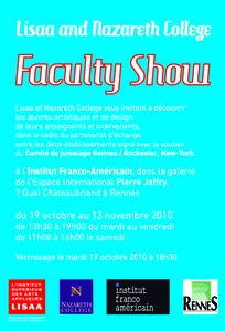 faculty show(2)