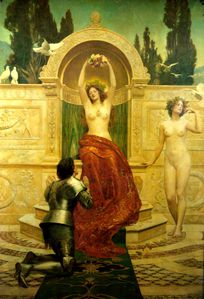 In the Venusberg Tannhauser John Collier
