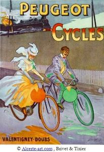 lobel-riche-affiche-cycles-peugeot legende
