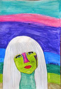 Portrait-Peinture-PopArt-Andy Warhol-Atelier de Flo-FloM32
