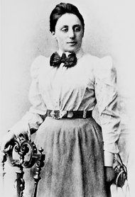 Emmy Noether one of the world's greatest mathematicians, N