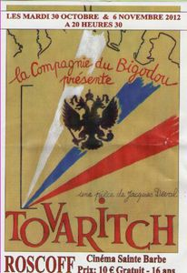 AFFICHE TOVARITCH