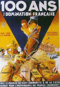 Colonisation affiche PCF