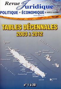 Tables décennales