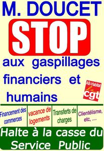 affiche gaspillages