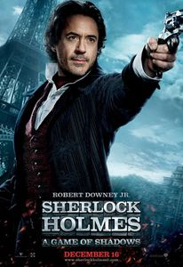 Sherlock Holmes Game Of Shadows Robert Downey Jr