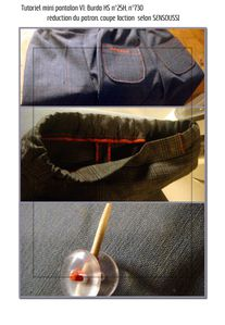 tutoriel minipantalon V1 burda