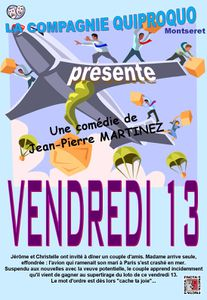 Affiche A3 Vendredi 13