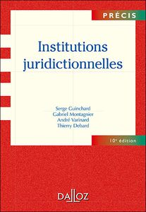 « Institutions juridictionnelles »