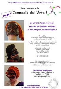 Commedia - Brémontier - Stages 2010