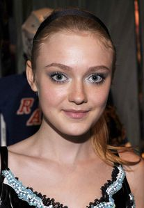 dakota fanning at prada celebration NYC 2