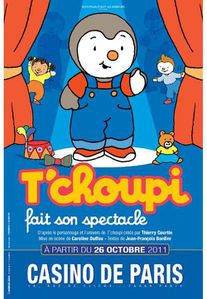 TChoupi fait son spectacle