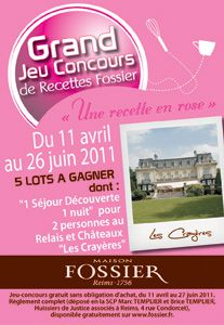 Concours Biscuit rose de Reims
