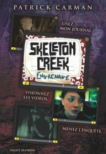 book cover skeleton creek, tome 2 engrenage 202406 250 40