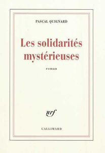 solidarits mystrieuses