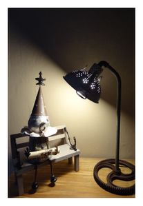 Lampe passoire + magicien