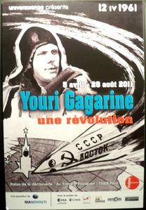 affiche Gagarine