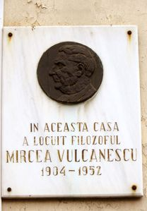 Placuta memoriala Vulcanescu