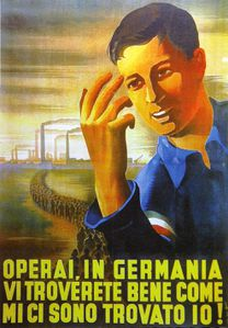 manifesto lavoratori in Germania 2