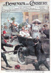 1914 luglio Sarajevo