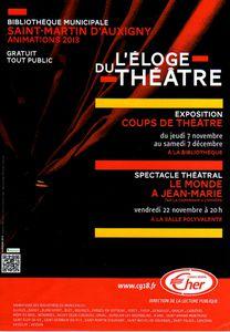 20131107 L'Eloge du théâtre