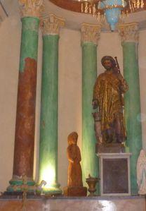 pilier St Roch décrouté