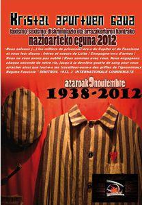 (9 NOV) KRISTALL NACHT 1938-2012-azk
