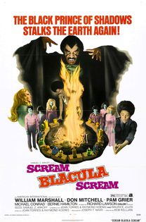 Scream, Blacula, scream - affiche
