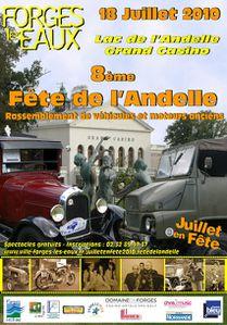 fête Forges-les-Eaux 18 juillet