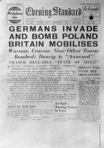 Germans invade Poland