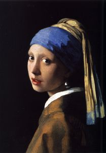 Johannes Vermeer (1632-1675) - The Girl With The P-copie-1